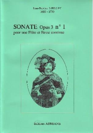 Sonate Opus 3 N° 1 - LOEILLET - Partition - laflutedepan.com