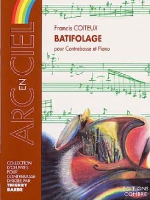 Batifolage - Francis Coiteux - Partition - laflutedepan.com
