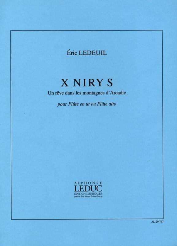 X Niry S - Eric Ledeuil - Partition - laflutedepan.com