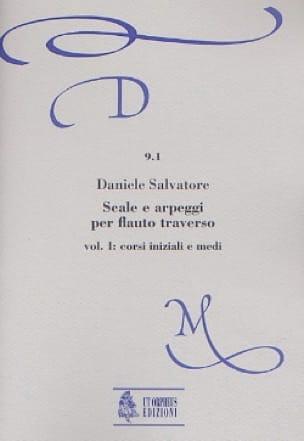 Scale e arpeggi per flauto trav. - Volume 1 - laflutedepan.com