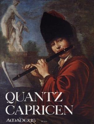 Capricen - Flöte QUANTZ Partition Flûte traversière - laflutedepan