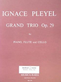 Grand trio op. 29 -Piano, flute, cello Ignaz Pleyel laflutedepan