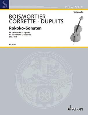 Rokoko-Sonaten laflutedepan