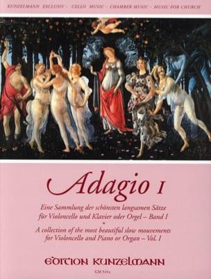Adagio Volume 1 Werner Thomas-Mifune Partition laflutedepan