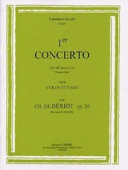 1er Solo Du Concerto N° 1 Op. 26 En Ré Majeur BÉRIOT laflutedepan