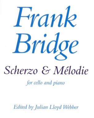 Scherzo et Mélodie Frank Bridge Partition Violoncelle - laflutedepan