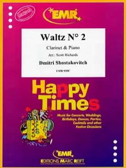Waltz N° 2 CHOSTAKOVITCH Partition Clarinette - laflutedepan