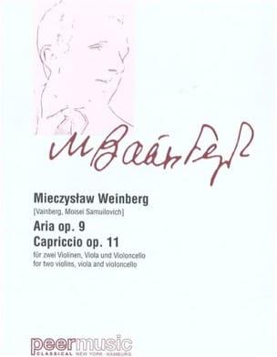 Aria & Capriccio - Mieczyslaw Weinberg - Partition - laflutedepan.com