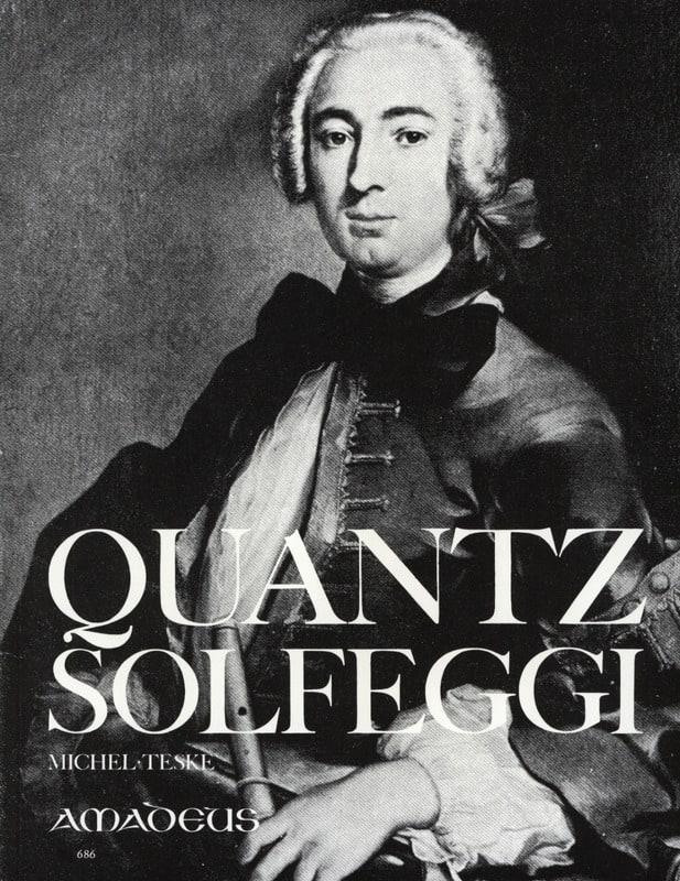 Solfeggi - Flöte - QUANTZ - Partition - laflutedepan.com