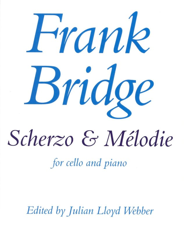 Scherzo et Mélodie - Frank Bridge - Partition - laflutedepan.com