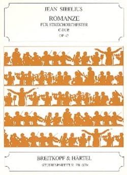 Romance, Opus 42 - Conducteur Petit SIBELIUS Partition laflutedepan