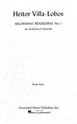 Bachianas brasileiras n° 1 - Conducteur VILLA-LOBOS laflutedepan