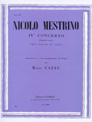 1er Solo du Concerto n° 4 - Nicolo Mestrino - laflutedepan.com