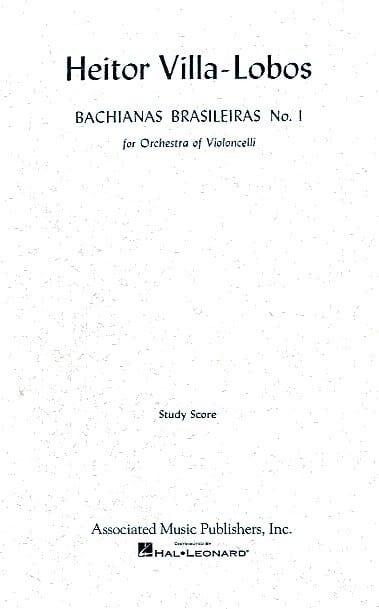 Bachianas brasileiras n° 1 - Conducteur - laflutedepan.com