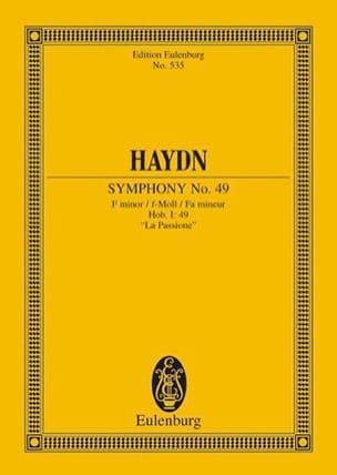 Sinfonie Nr. 49 f-moll HAYDN Partition Petit format - laflutedepan