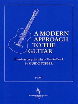 A Modern Approach To The Guitar Volume 1 Guido Topper laflutedepan