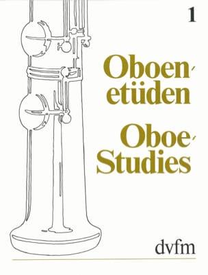 Oboen Etüden, Band 1 compositeurs Divers Partition laflutedepan