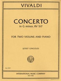 Concerto en Sol Mineur Opus 27 N°2 - Rv 517 VIVALDI laflutedepan