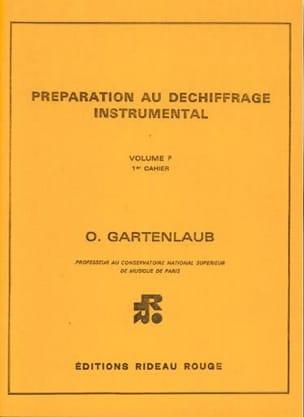 Préparation au Dechiffrage Instr. Volume F1 Harpe laflutedepan
