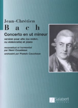 Concerto en ut mineur - Johann Christian Bach - laflutedepan.com