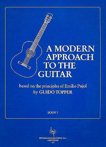 A Modern Approach To The Guitar Volume 1 - laflutedepan.com