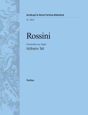 Guillaume Tell, Ouvertüre - Partitur ROSSINI Partition laflutedepan