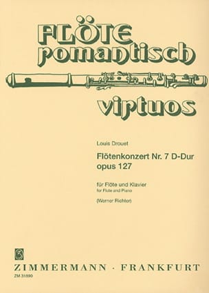 Concerto pour Flûte n° 7 en Ré Majeur, op. 127 laflutedepan