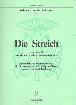 Heft 1 : Die Streich aus der Steiermark Volsmusik laflutedepan