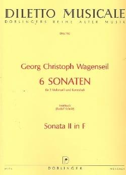 6 Sonaten - Nr. 2 F-Dur -Partitur + Stimmen - laflutedepan.com