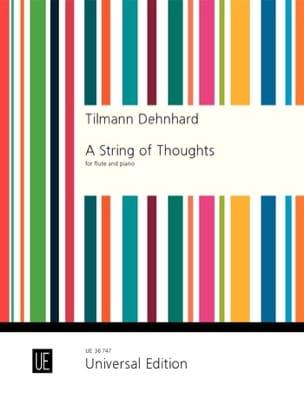 A String of Thoughts Tilmann Dehnhard Partition laflutedepan