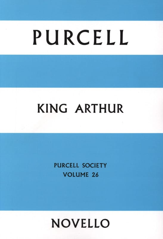 King Arthur - Score - PURCELL - Partition - laflutedepan.com