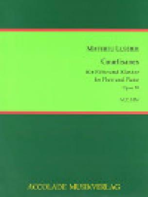 Courtisanes, op. 30 - Lussier Mathieu - Partition - laflutedepan.com