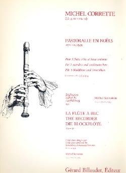 Pastoralle En Noels CORRETTE Partition Quatuors - laflutedepan