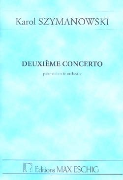 Concerto pour Violon n° 2 op. 61 - Conducteur SZYMANOWSKI laflutedepan