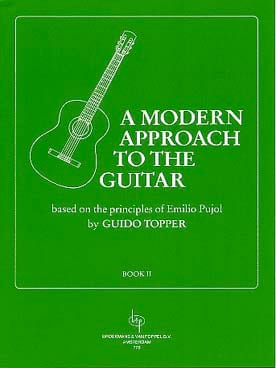 A Modern Approach To The Guitar Volume 2 Guido Topper laflutedepan