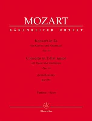 Klavierkonzert Es-Dur, Nr. 9 KV 271 - Partitur MOZART laflutedepan