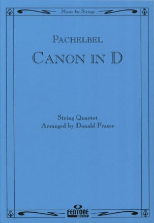 Canon in D - String Quartet PACHELBEL Partition laflutedepan