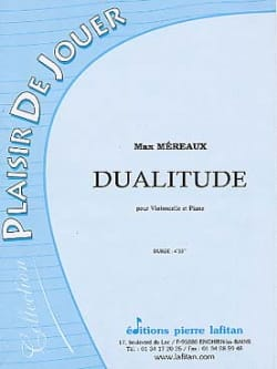 Dualitude Max Méreaux Partition Violoncelle - laflutedepan