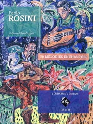20 Mélodies Enchantées - 2 Guitares Paolo Rosini laflutedepan