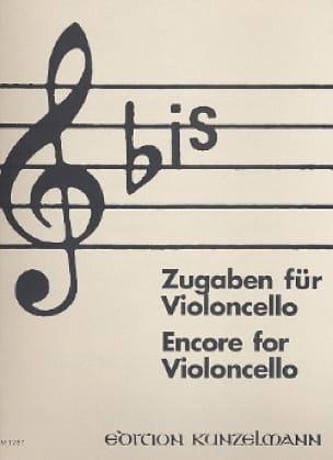 Bis : Zugaben - Cello - Werner Thomas-Mifune - laflutedepan.com