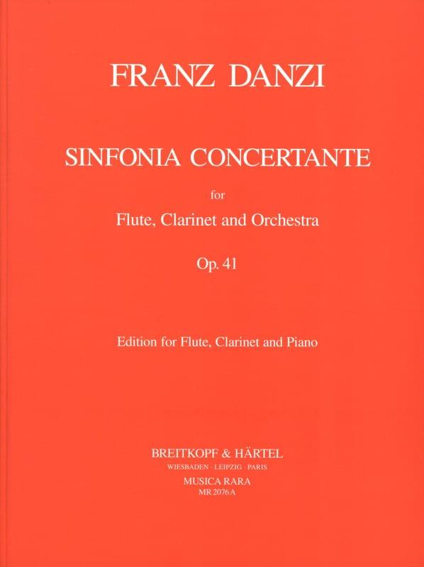 Sinfonia concertante op. 41 -Flute clarinet piano - laflutedepan.com
