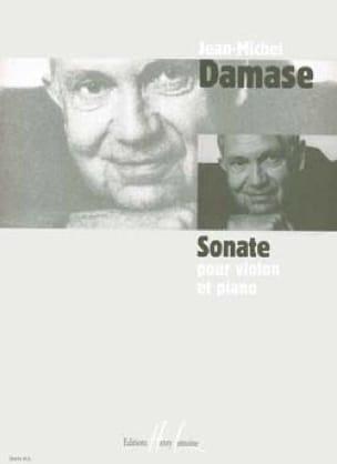 Sonate Violon et Piano - Jean-Michel Damase - laflutedepan.com