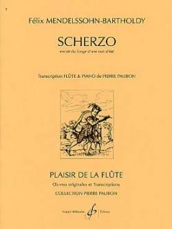 Scherzo extr. Songe d'une nuit d'été - Flûte piano laflutedepan