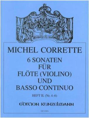 6 Sonaten op. 13 - Heft 2 -Flöte Violine u. Bc - laflutedepan.com