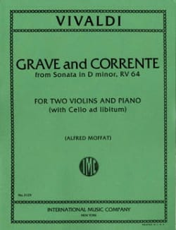 Grave and Corrente Sonata D minor RV 64 VIVALDI laflutedepan