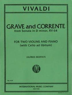 Grave and Corrente Sonata D minor RV 64 VIVALDI laflutedepan