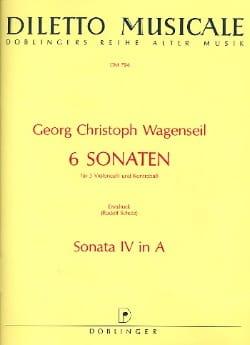 6 Sonaten - Nr. 4 A-Dur - Partitur + Stimmen laflutedepan