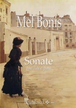 Sonate - Flûte piano Mel Bonis Partition laflutedepan