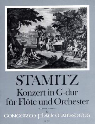 Konzert in G-Dur für Flöte und Orchester Opus 29 STAMITZ laflutedepan