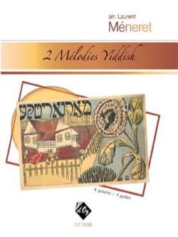 2 Mélodies Yiddish - 4 Guitares Partition Guitare - laflutedepan